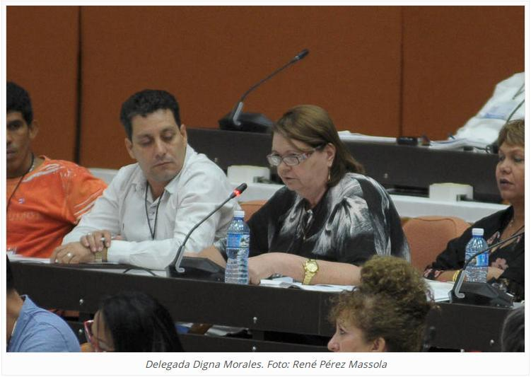 Delegada Digna Morales