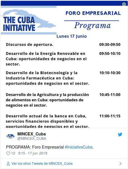 Foro Iniciativa Cuba