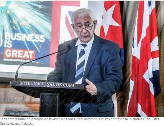 Foro de negocios UK-Cuba